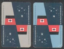 Advertising collectible playing cards New Zealand shipping line